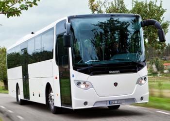 Автобусные туры: автобусы Scania OmniExpress