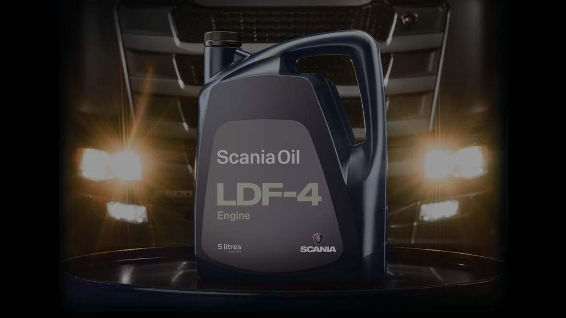 Моторное масло Scania