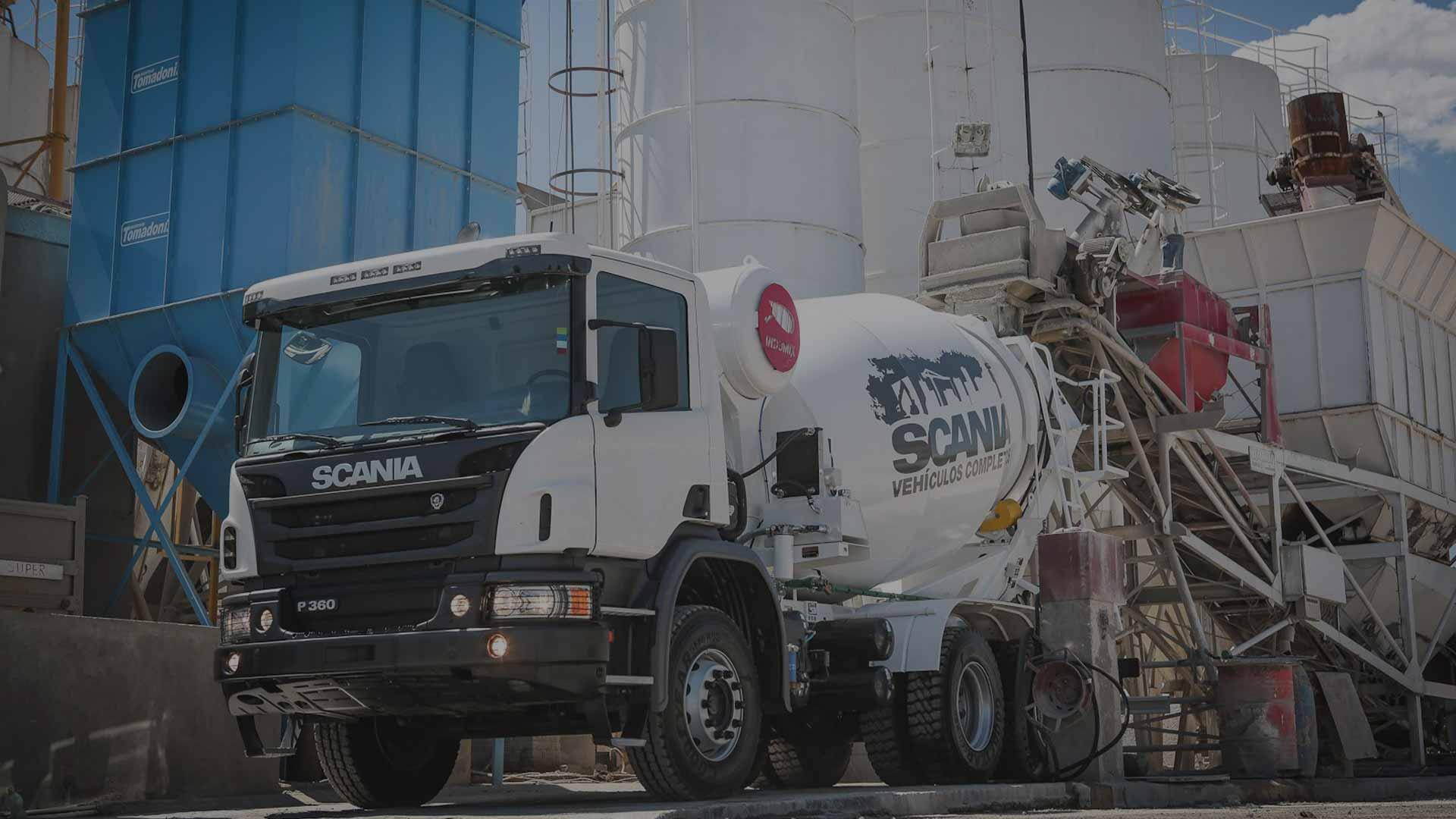 Бетоносмесители Scania